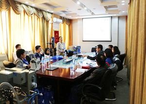 ju111net免费影城科技举办天津中海油用户研讨交流会