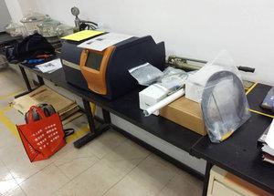 天津樂金渤海化學有限公司儀器驗收現場