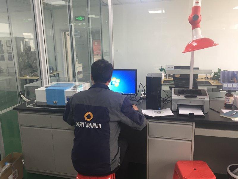 天津银河8076线路检测中心为领航石化天津分公司提供售后调试服务