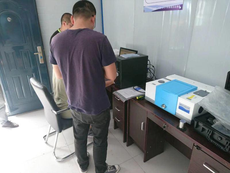 中交集团吉林分公司采购能谱科技HWLQ-1沥青红外分析系统用于松原高速